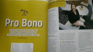 Pro Bono article